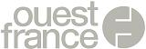 Logo Ouest France noir et blanc