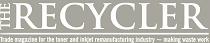 Logo The Recycler noir et blanc
