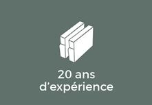 20 ans d'expérience