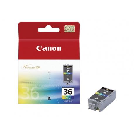 Canon CLI 36 Couleur - Cartouche jet d'encre d'origine