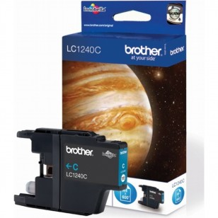 Brother LC1240C Cyan - Cartouche jet d'encre d'origine