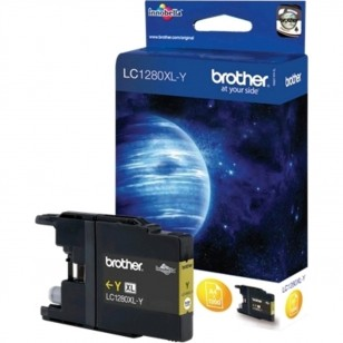 Brother LC1280XL Y Jaune - Cartouche jet d'encre d'origine