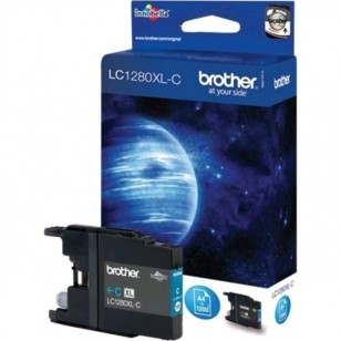 Brother LC1280XL C Cyan - Cartouche jet d'encre d'origine