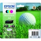 Epson Multipack 34 Balle de golf - 4 Cartouches jet d'encre d'origine
