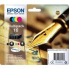 Epson Multipack 16 Stylo - 4 Cartouches jet d'encre d'origine