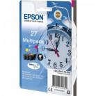 Epson Multipack 27 Réveil - 3 Cartouches jet d'encre d'origine