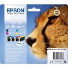 Epson Multipack T0715 Guépard - 4 Cartouches jet d'encre d'origine