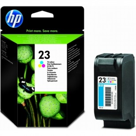 HP 23 Couleur - C1823D - Cartouche jet d'encre d'origine