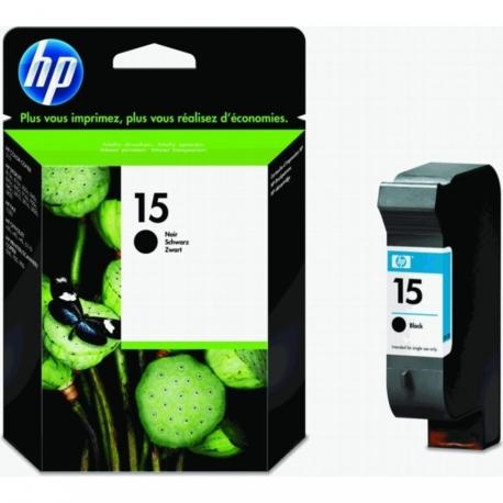 HP 15 Noir - C6615DE - Cartouche jet d'encre d'origine