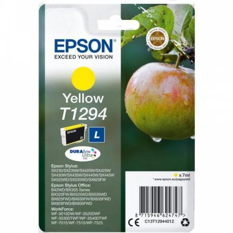 Epson T1294 Jaune Pomme - Cartouche jet d'encre d'origine