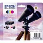 Epson Multipack 502 Jumelles - 4 cartouches jet d'encre d'origine