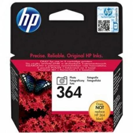 HP N°364 Noir Photo - CB317EE - Cartouche jet d'encre d'origine