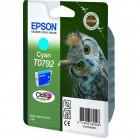Epson T0792 Cyan Chouette - Cartouche jet d'encre d'origine