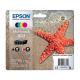 Epson Pack 603 Etoile de mer - 4 Cartouches jet d'encre d'origine
