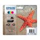 Epson Pack 603 XL Etoile de mer - 4 Cartouches jet d'encre d'origine