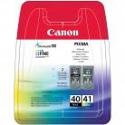 Canon Multipack PG-40/CL-41 - 2 Cartouches jet d'encre d'origine