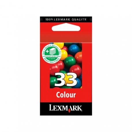 Lexmark N°33 Couleur - 18CX033B - Cartouche jet d'encre d'origine