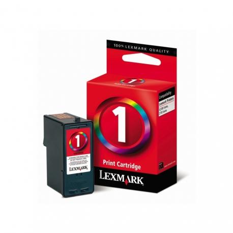 Lexmark N°1 Couleur - 18CX781B - Cartouche jet d'encre d'origine