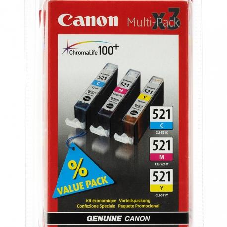 Canon TwinPack PGI-520BK x2 Noir - 2 Cartouches jet d'encre d'origine