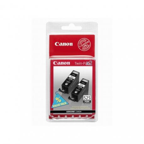 Canon TwinPack PGI-525PGBK Noir - 2 Cartouches jet d'encre d'origine