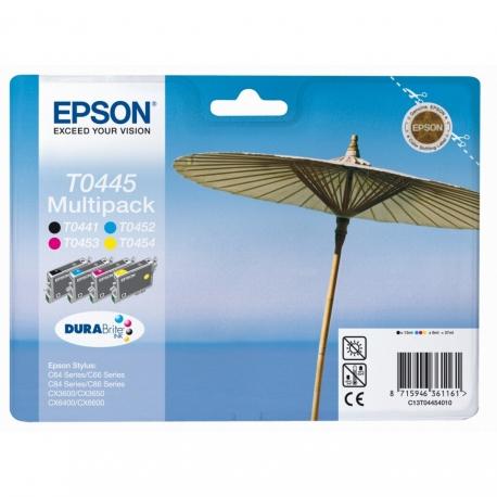 Epson Multipack T0445 Parasol - 4 Cartouches jet d'encre d'origine