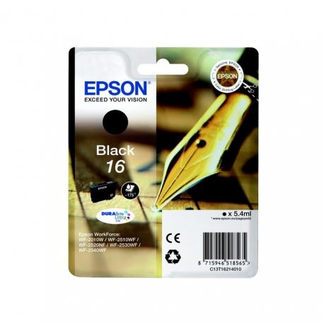 Epson N°16 Noir - Cartouche jet d'encre d'origine