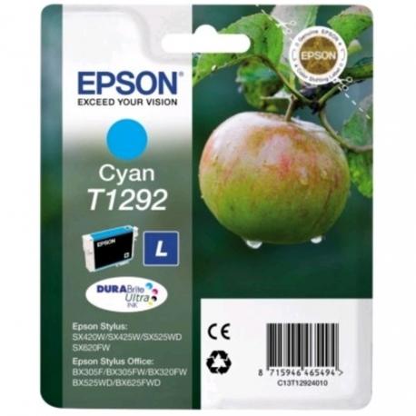 Epson T1292 Cyan - Cartouche jet d'encre d'origine