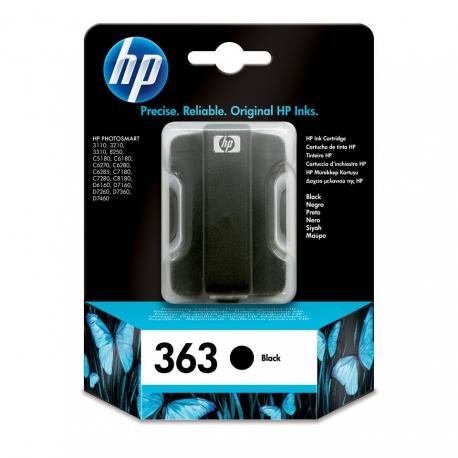 HP N°363 Noir - C8721EE - Cartouche jet d'encre d'origine
