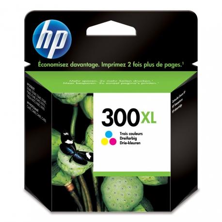 HP N°300XL Couleur - CC644EE - Cartouche jet d'encre d'origine
