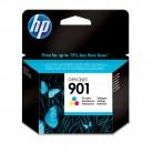 HP N°901 Couleur - CC656AE - Cartouche jet d'encre d'origine