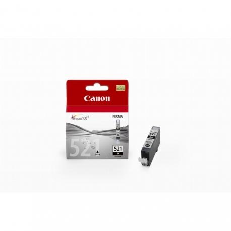 Canon CLI-521BK Noir - Cartouche jet d'encre d'origine