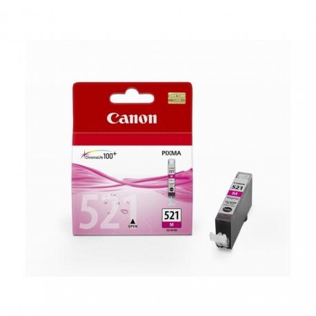 Canon CLI-521M Magenta - Cartouche jet d'encre d'origine
