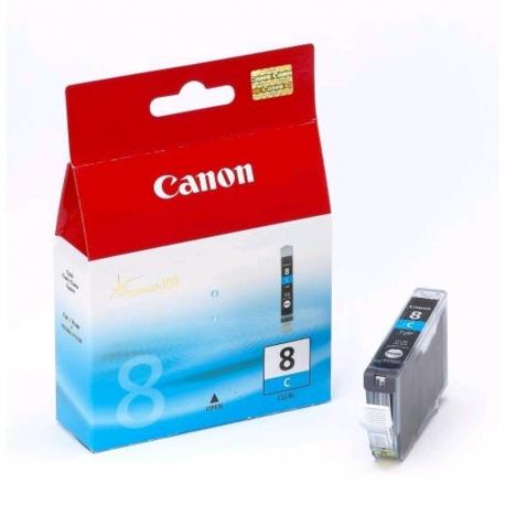 Canon CLI-8C Cyan - Cartouche jet d'encre d'origine