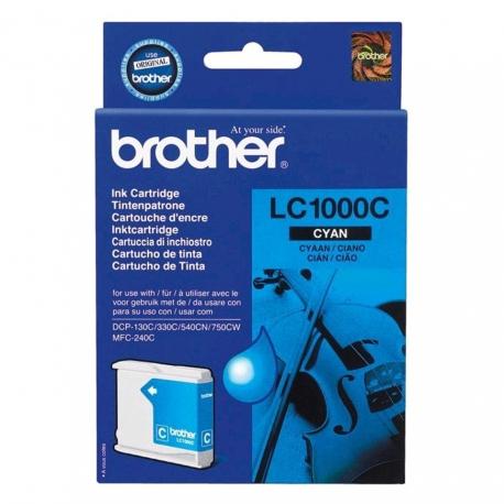 Brother LC1000C Cyan - Cartouche jet d'encre d'origine