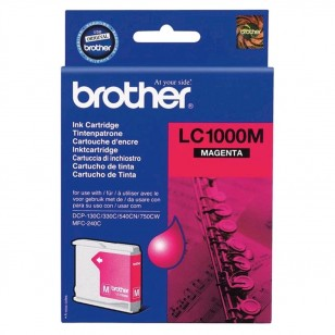 Brother LC1000M Magenta - Cartouche jet d'encre d'origine