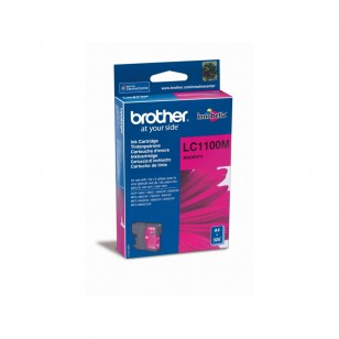 Brother LC1100M Magenta - Cartouche jet d'encre d'origine