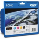 Brother Value Pack LC985 - 4 Cartouches jet d'encre d'origine