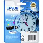 Epson Multipack N°27 Réveil - 3 Cartouches jet d'encre d'origine