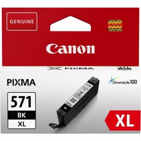 Canon CLI-571BK XL Noir - Cartouche jet d'encre d'origine