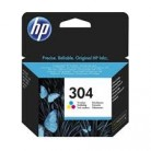 HP N°304 Couleur - N9K05AE - Cartouche jet d'encre d'origine