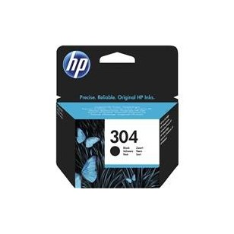 HP N°304 Noir - N9K06AE - Cartouche jet d'encre d'origine