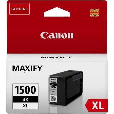 Canon PGI-1500BK XL Noir - Cartouche jet d'encre d'origine