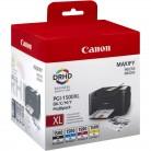 Canon Multipack PGI-1500 XL - 4 Cartouches jet d'encre d'origine