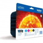 Brother Pack LC980 - 4 Cartouches jet d'encre d'origine